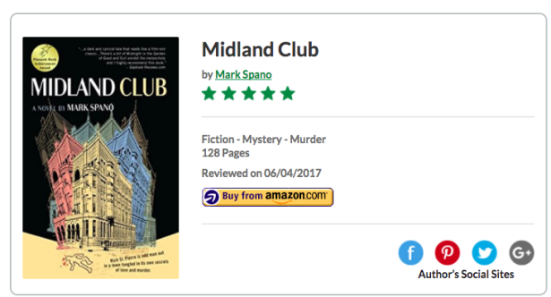 Book review of Midland Club - Readers' Favorite: Book Reviews and Award Contest 2017-10-31 01-14-22